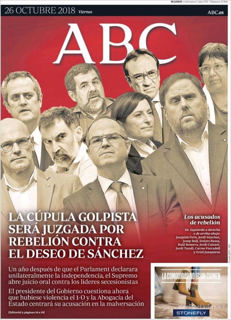 catalogne indépendance prisonniers politiques journal abc putsche
