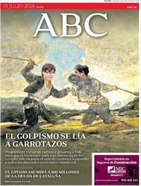 Portada ABC 2018-07-19