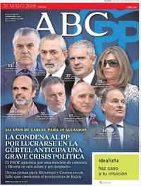 Portada ABC 2018-05-25