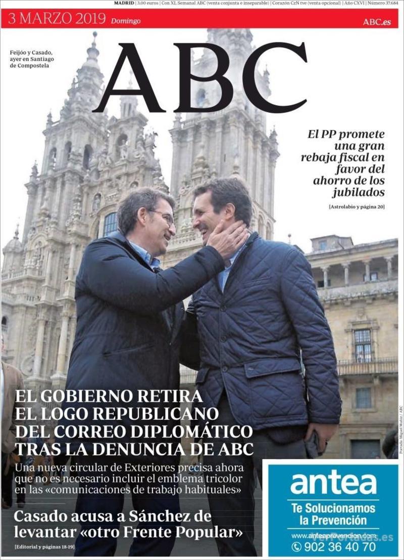 Portada ABC 2019-03-04