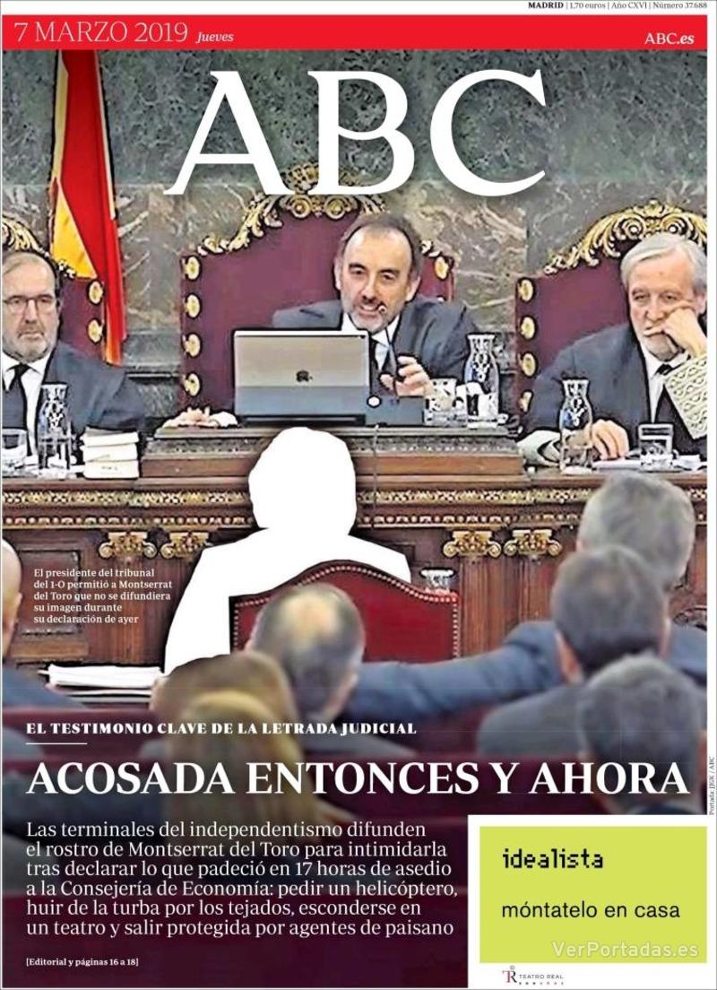 Portada ABC 2019-03-08