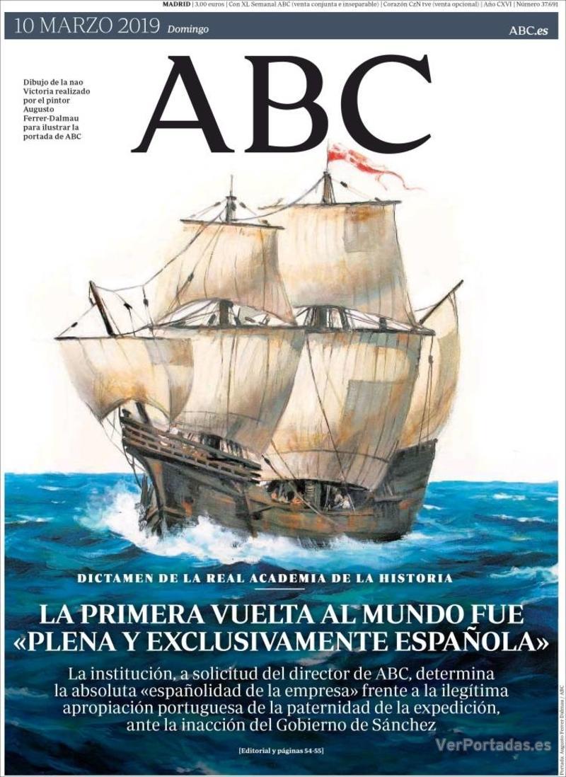 Portada ABC 2019-03-10