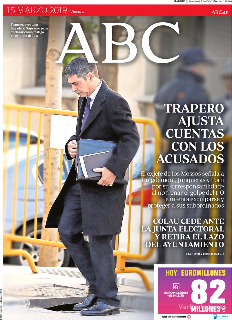 Portada ABC 2019-03-16