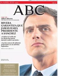 Portada ABC 2019-04-06