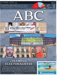 Portada ABC 2019-04-08