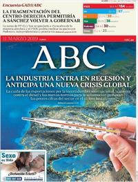 Portada ABC 2019-03-11