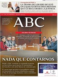 Portada ABC 2019-12-11