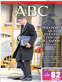 Portada ABC 2019-03-15