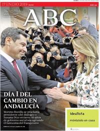 Portada ABC 2019-01-17
