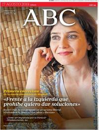 Portada ABC 2019-08-17