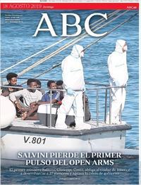 Portada ABC 2019-08-18