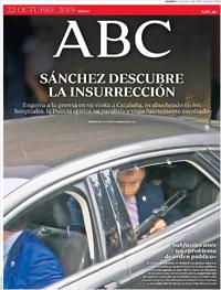 Portada ABC 2019-10-22