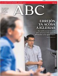 Portada ABC 2019-09-23