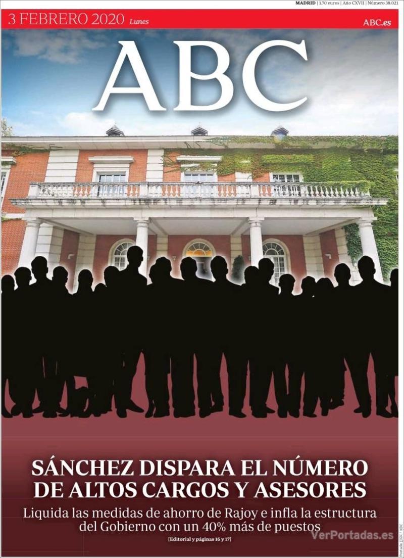 Portada ABC 2020-02-04