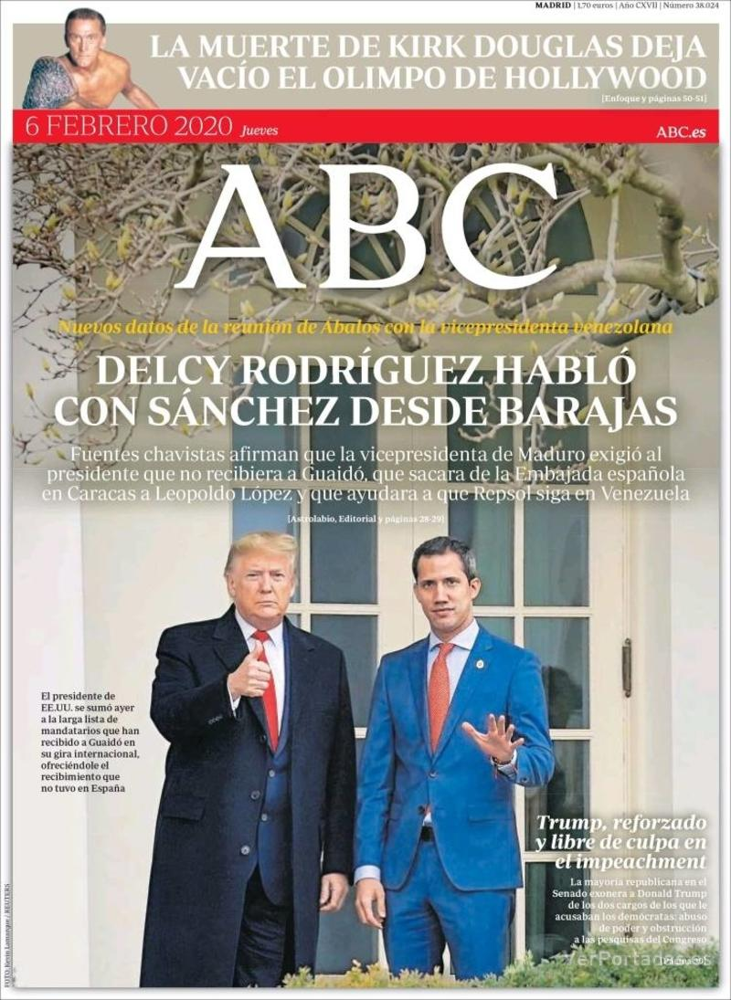 Portada ABC 2020-02-07
