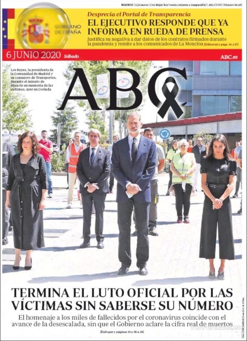 Portada ABC 2020-06-07