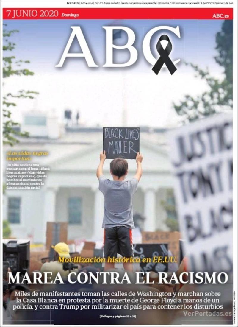 Portada ABC 2020-06-08