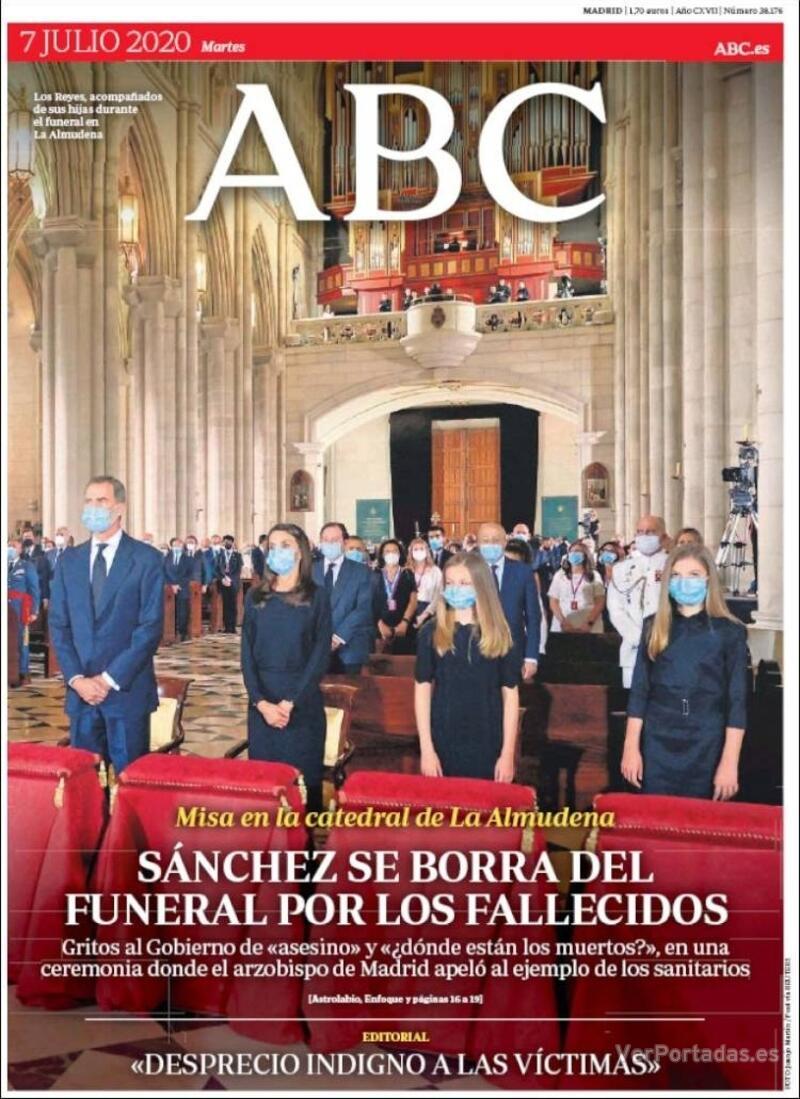 Portada ABC 2020-07-08