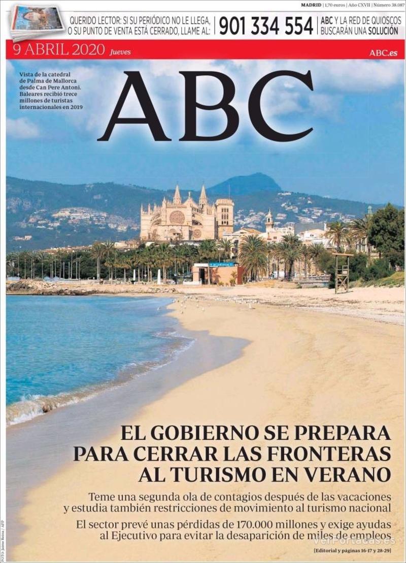 Portada ABC 2020-04-10