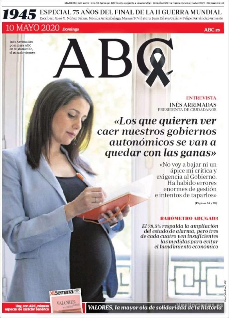Portada ABC 2020-05-11