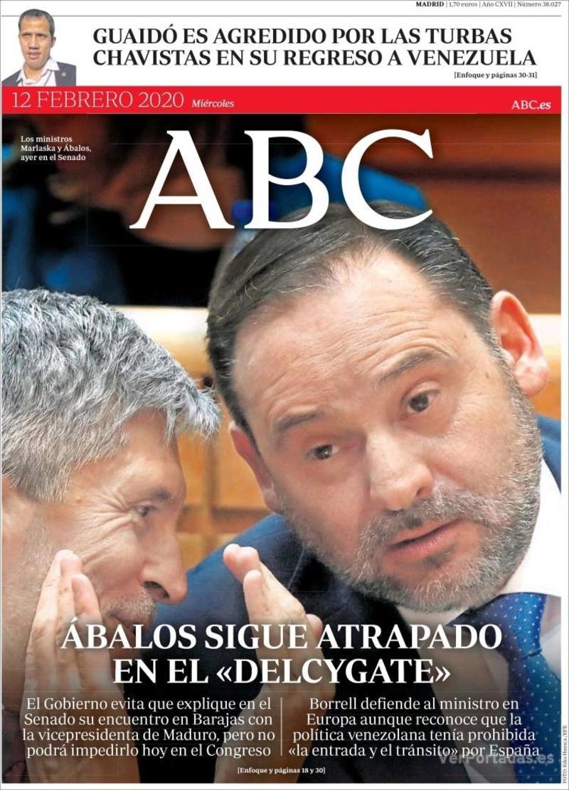 Portada ABC 2020-02-13