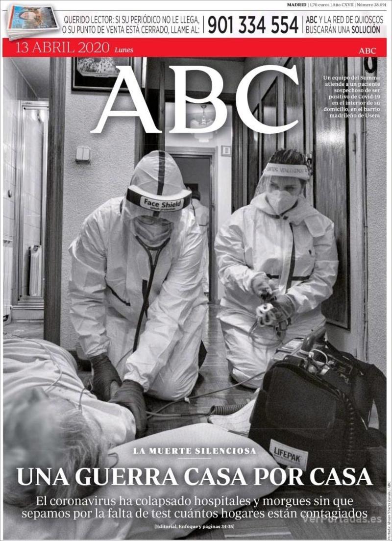 Portada ABC 2020-04-14