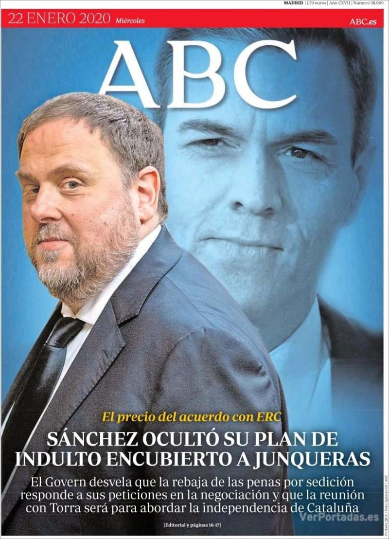 Portada ABC 2020-01-23