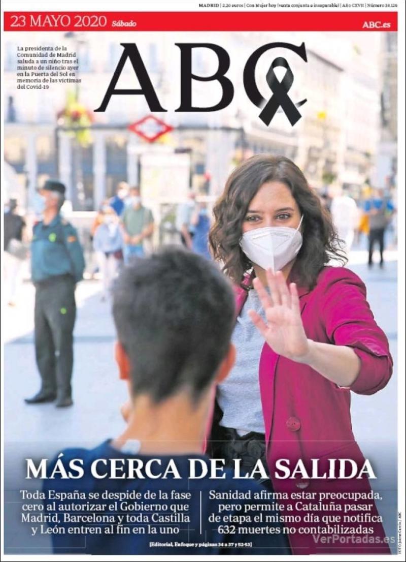 Portada ABC 2020-05-24