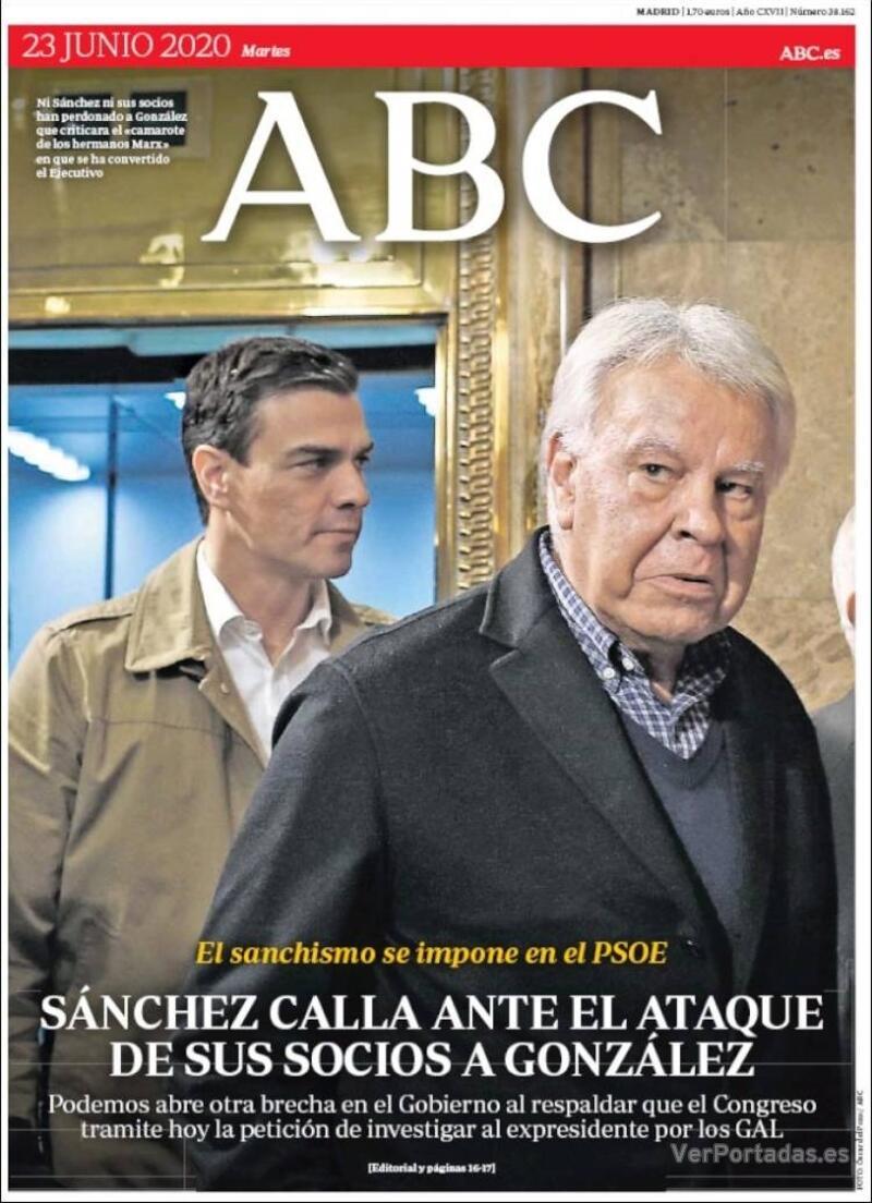 Portada ABC 2020-06-24