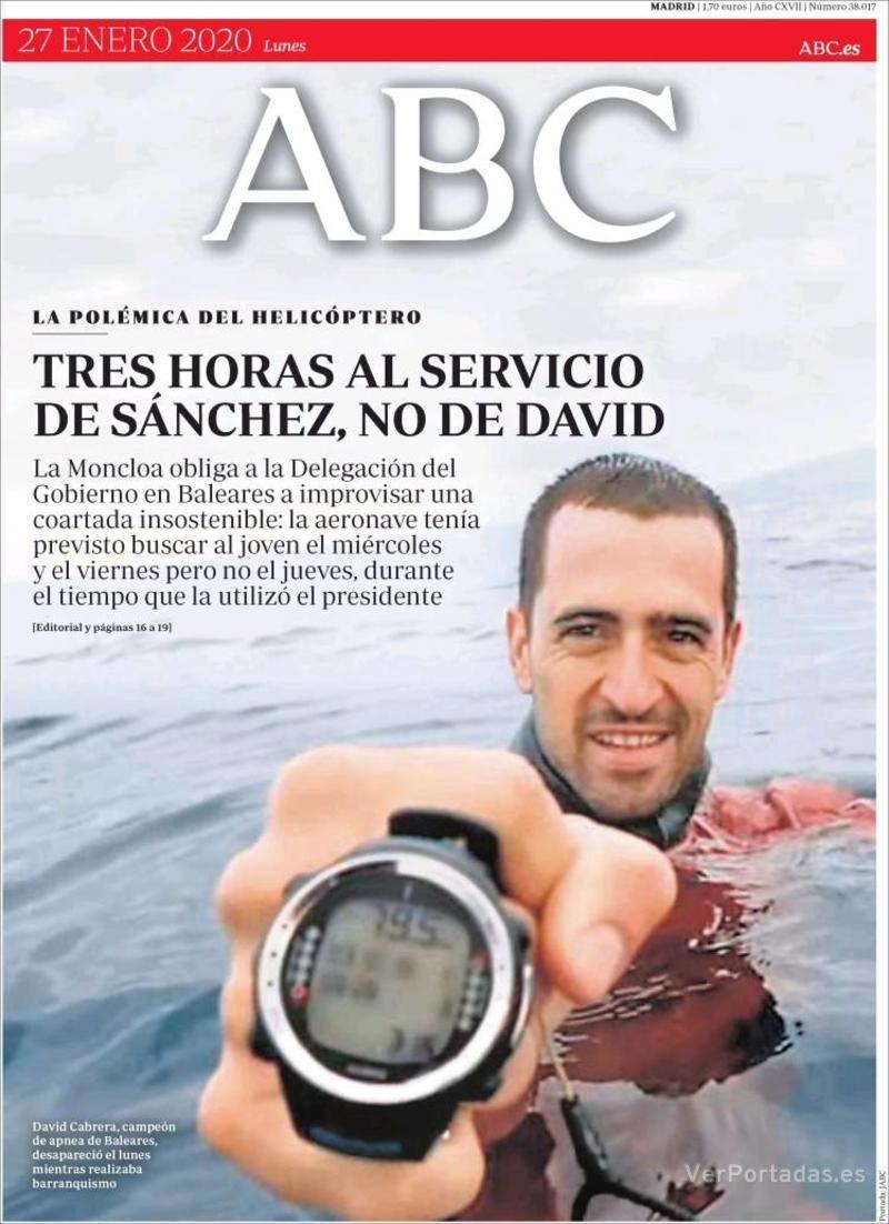 Portada ABC 2020-01-28