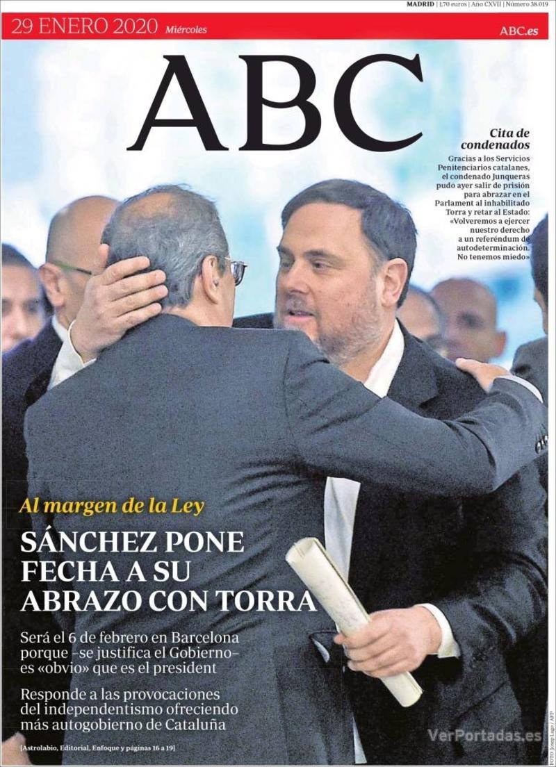 Portada ABC 2020-01-30