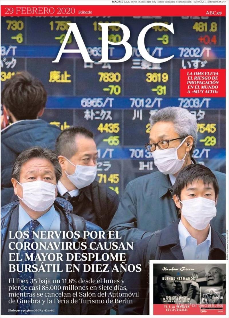 Portada ABC 2020-03-01