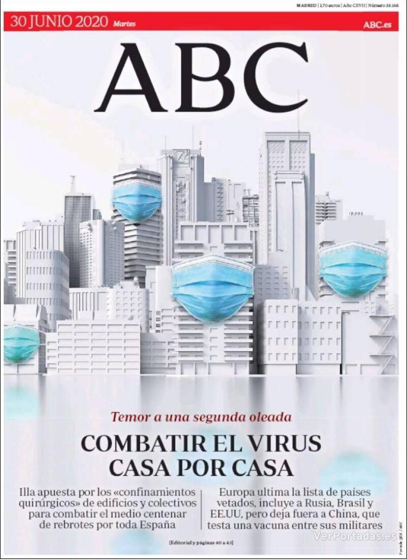Portada ABC 2020-07-01