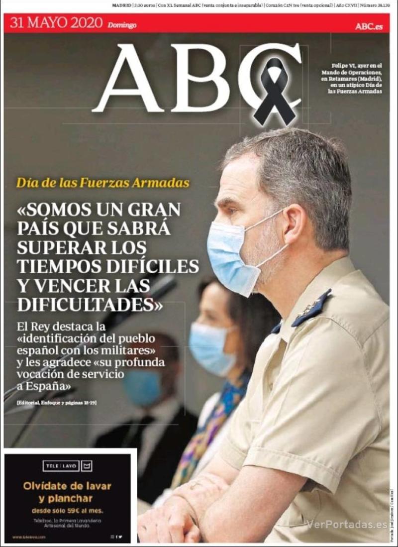 Portada ABC 2020-06-01