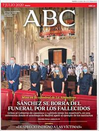 Portada ABC 2020-07-07