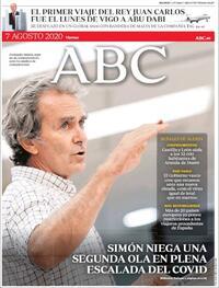 Portada ABC 2020-08-07