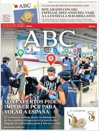 Portada ABC 2020-07-11