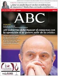 Portada ABC 2020-06-14