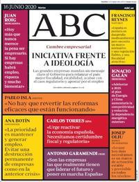 Portada ABC 2020-06-16
