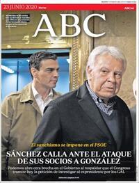 Portada ABC 2020-06-23