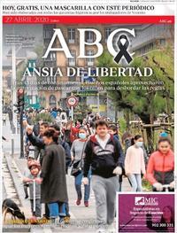Portada ABC 2020-04-27