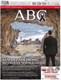 Portada ABC 2020-04-29