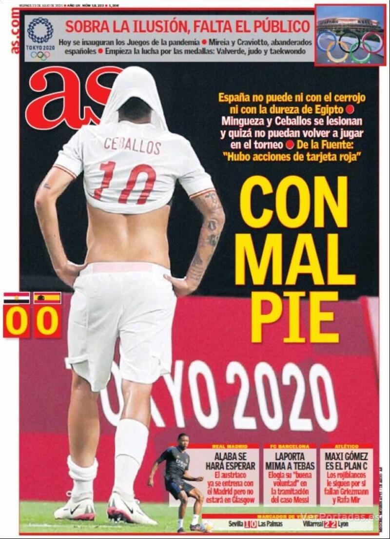 Portada Sport 2021-07-23