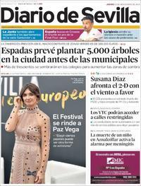 Portada Diario de Sevilla 2018-11-15