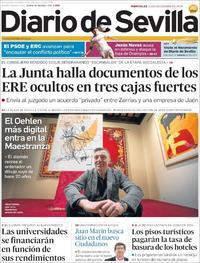 Portada Diario de Sevilla 2019-12-11