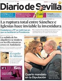Portada Diario de Sevilla 2019-07-16