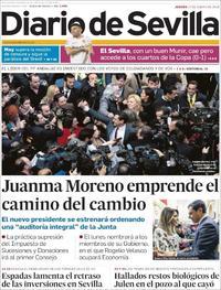 Portada Diario de Sevilla 2019-01-17