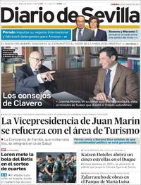 Portada Diario de Sevilla 2019-01-18