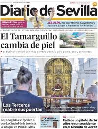 Portada Diario de Sevilla 2019-03-25