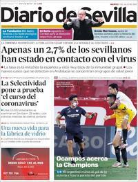 Portada Diario de Sevilla 2020-07-07
